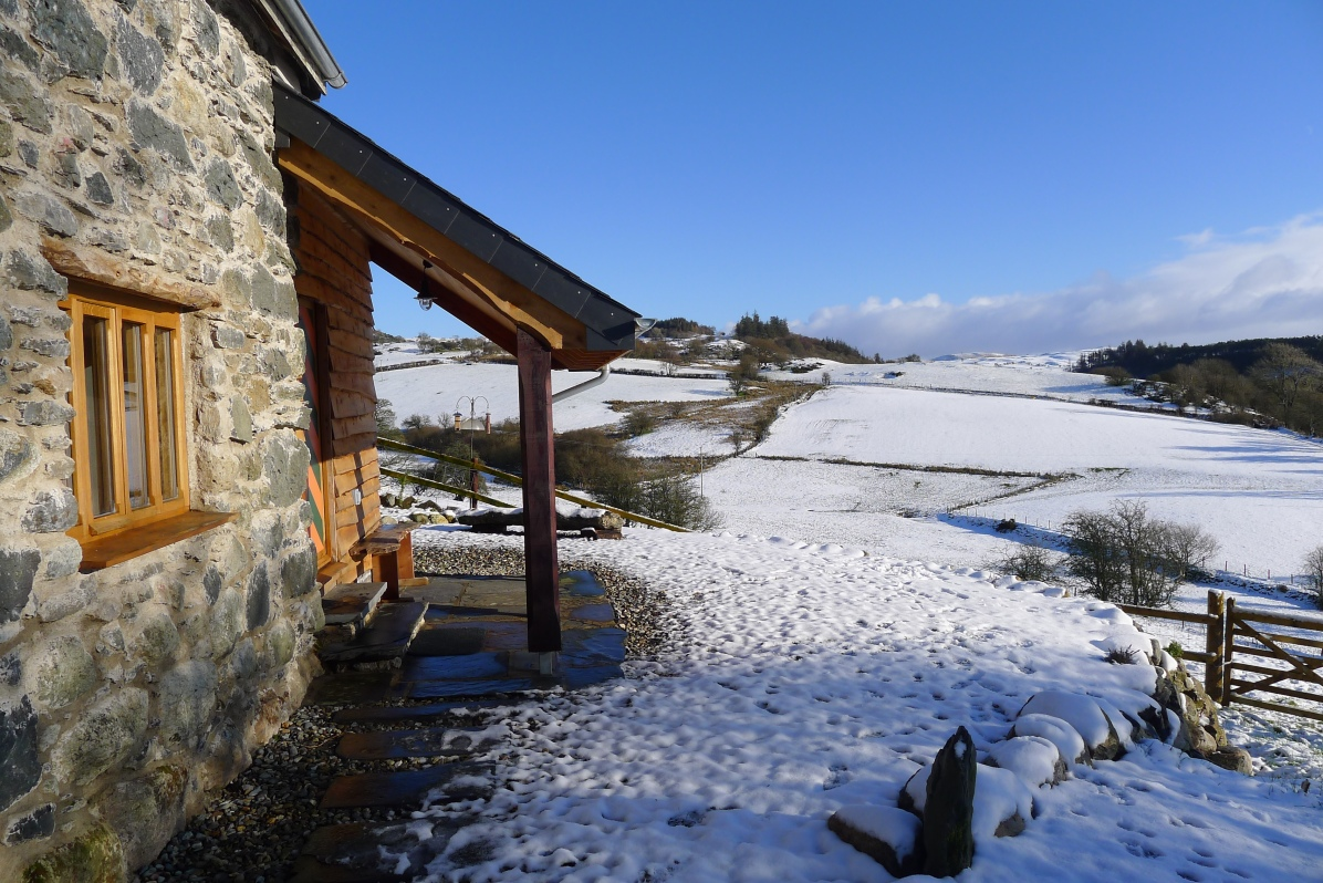 winter in North Wales