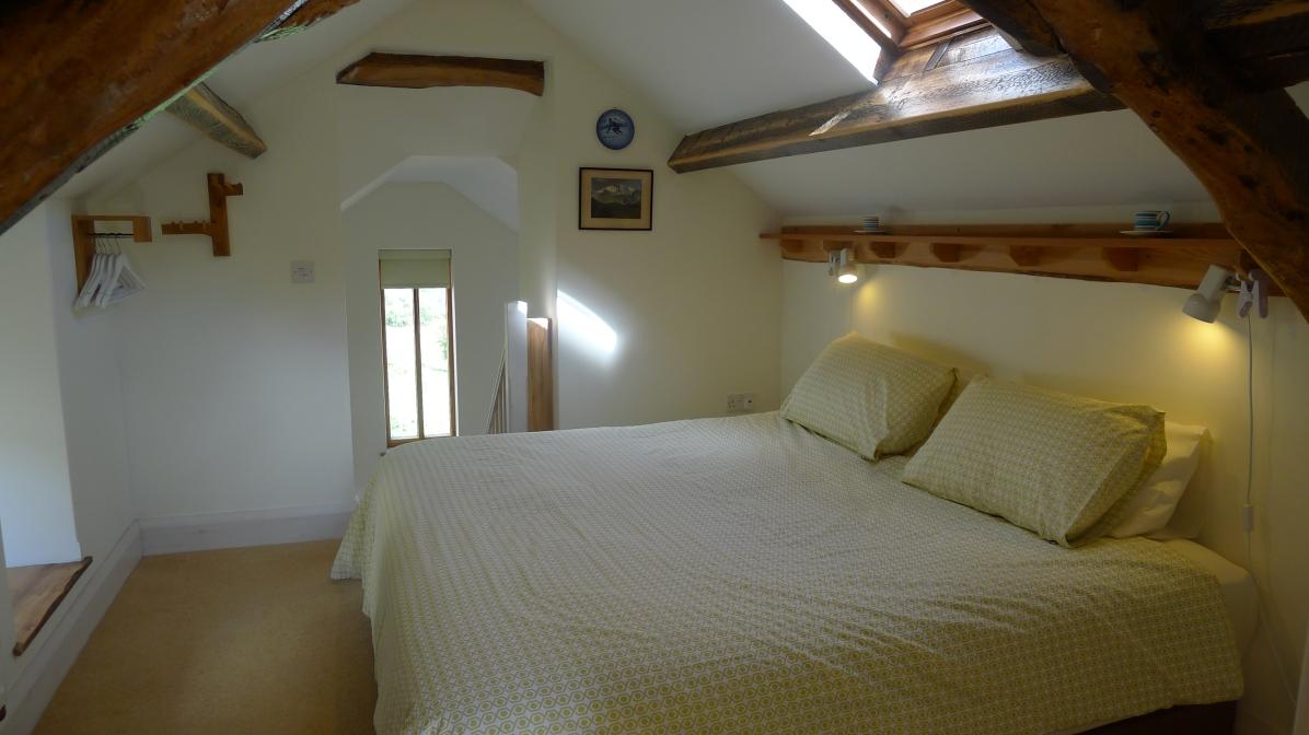 Ty Beic Barn Bedroom