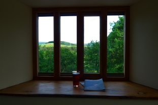 or from inside your cottage