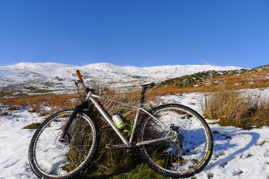 MTB in snow