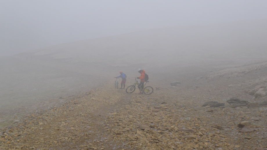 MTBs in the mist