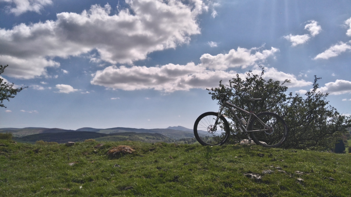 Mountain biking North Wales