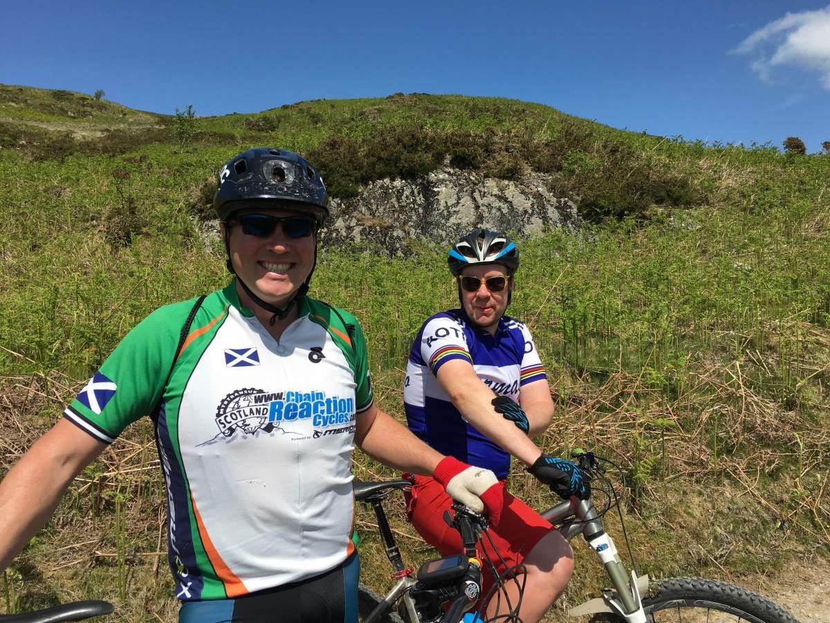 mountain biking wales