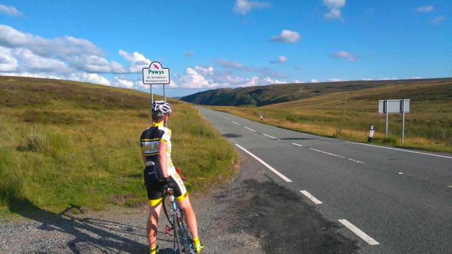Road cycling Berwyns