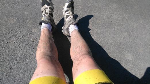 battered legs