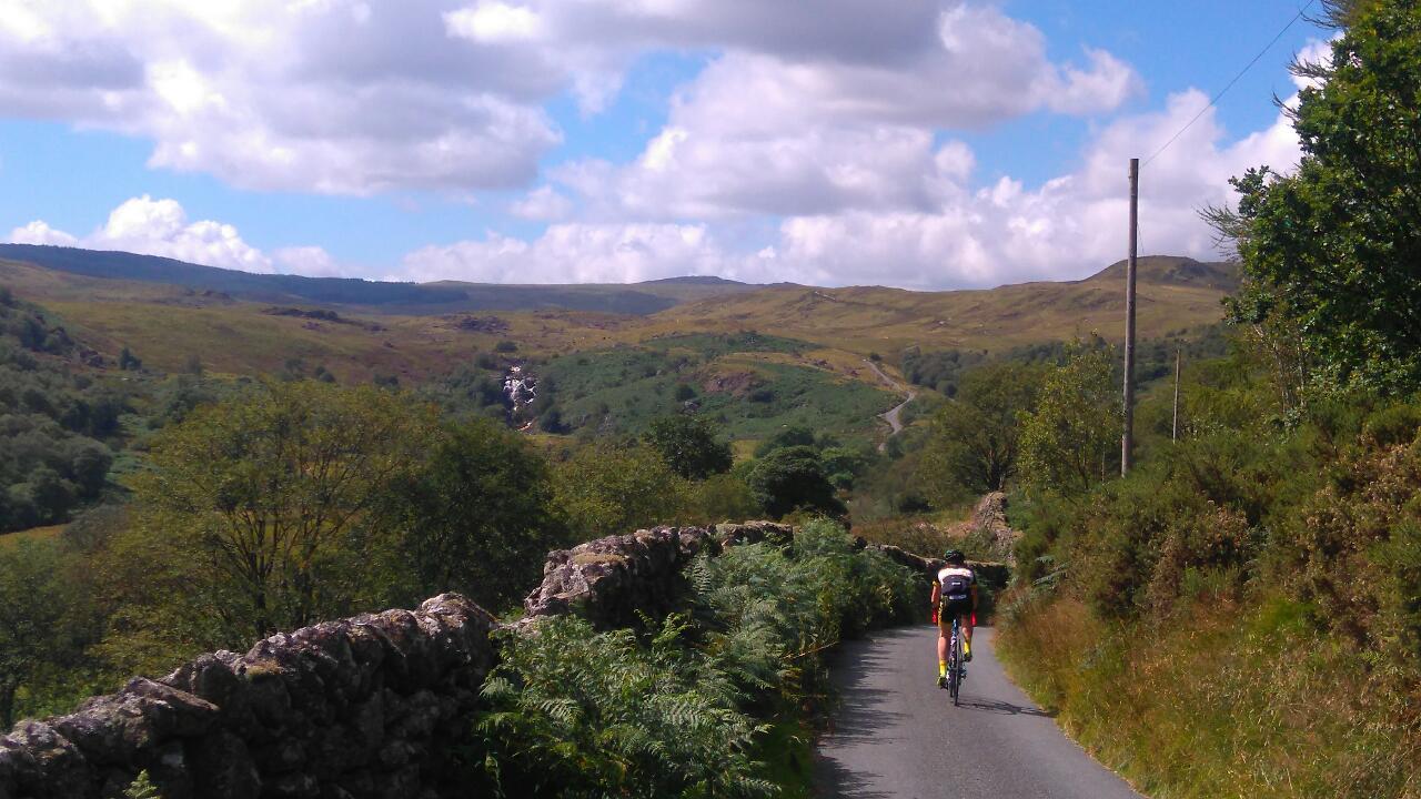 North Wales Road cycling