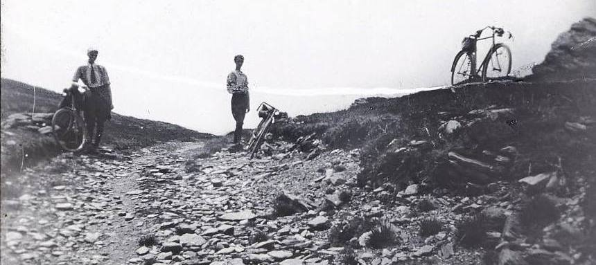 off road cycling 1920s